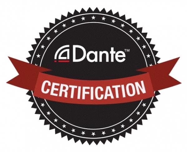 Dante certifikation
